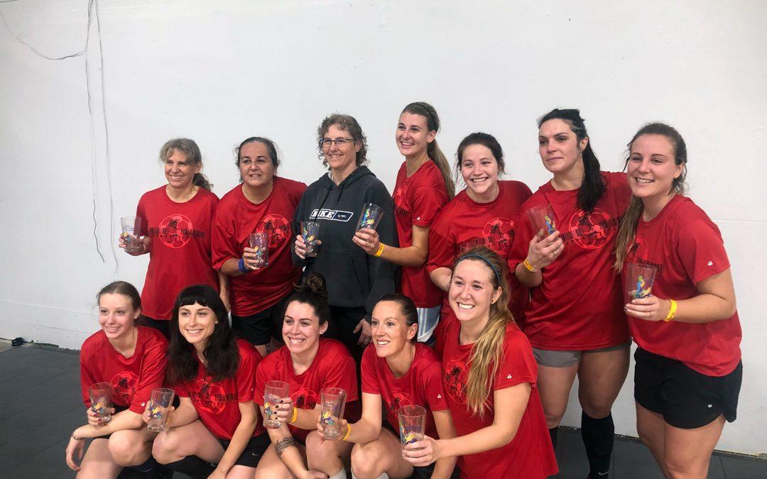 Sacramento Valley Women's Soccer Indoor Annual Xmas Tournament